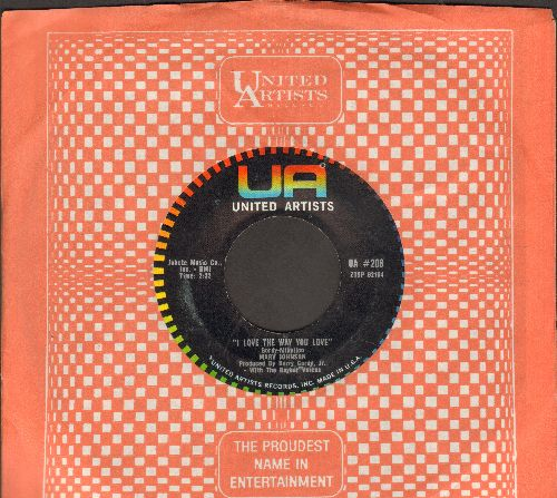 Johnson, Marv - I Love The Way You Love/Let Me Love You (with United Artists company sleeves) - EX8/ - 45 rpm Records