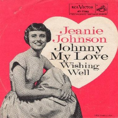 Johnson, Jeanie - Wishing Well/Johnny My Love (with RARE picture sleeve) - M10/VG7 - 45 rpm Records