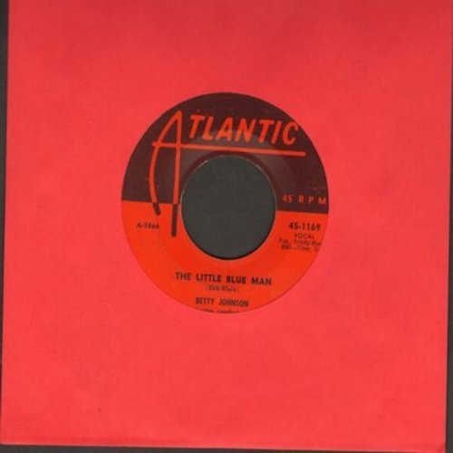 Johnson, Betty - The Little Blue Man (I Wuv You, I Wuv You, I Wuv You!)/Winter In Miami (first pressing) - EX8/ - 45 rpm Records
