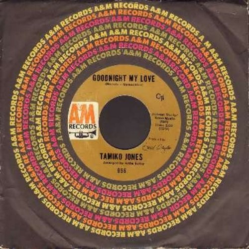 Jones, Tamiko - Goodnight My Love (Pleasant Dreams)/Ya Ya (with A&M company sleeve) - EX8/ - 45 rpm Records