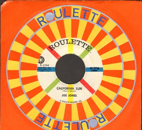 Jones, Joe - California Sun/Please Don't Talk About Me When I'm Gone (with Roulette company sleeve) - NM9/ - 45 rpm Records