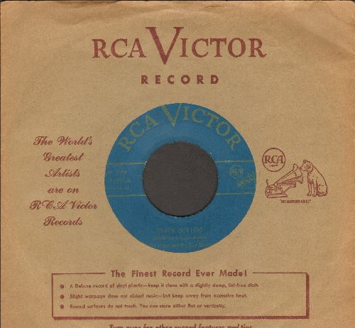 Jones, Spike & His City Slickers - Black Bottom/Doin' The New Raccoon (1950s issue with vintage RCA company sleeve) - VG7/ - 45 rpm Records