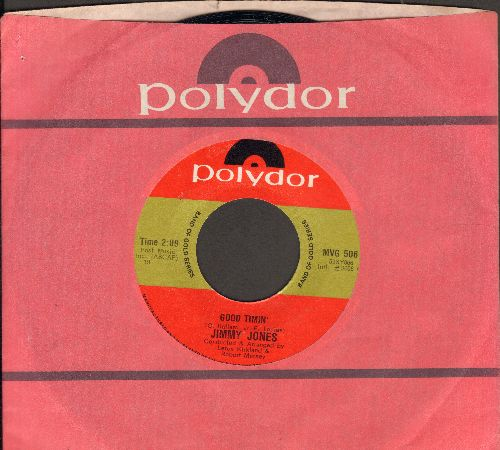Jones, Jimmy - Good Timin'/Handy Man (double-hit re-issue with Eric company sleeve) - NM9/ - 45 rpm Records