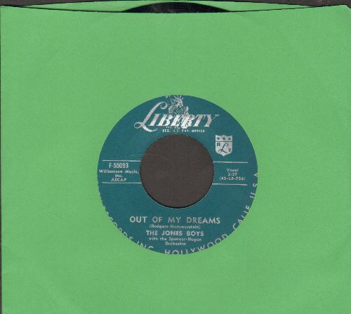 Jones Boys - Out Of My Dreams/Good Night - NM9/ - 45 rpm Records