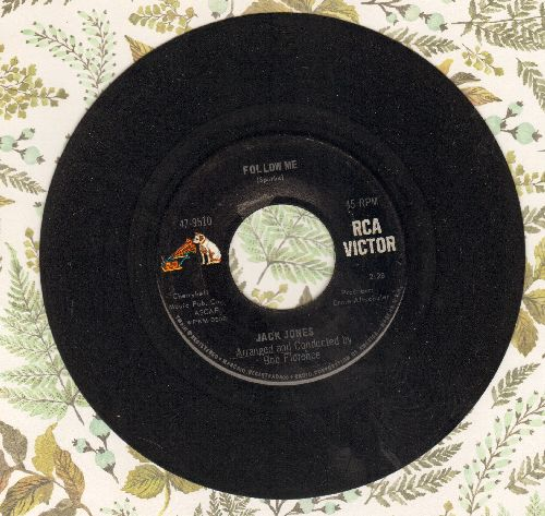 Jones, Jack - Follow Me/Without Her - EX8/ - 45 rpm Records