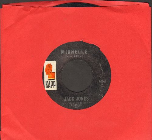 Jones, Jack - Michelle/Our Song  - VG7/ - 45 rpm Records