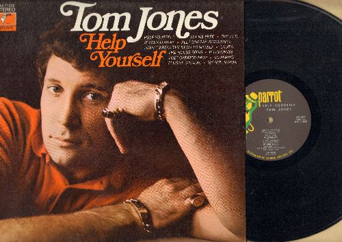 Jones, Tom - Help Yourslef: Elusive Dreams, My Girl Maria, Set Me Free, Laura, The House Song (Vinyl STEREO LP record) - NM9/NM9 - LP Records