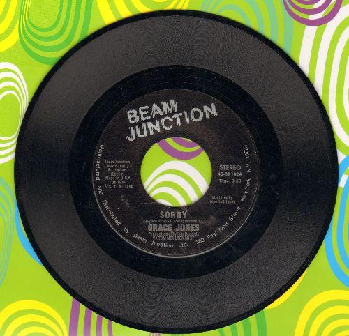 Jones, Grace - Sorry/That's The Trouble - NM9/ - 45 rpm Records