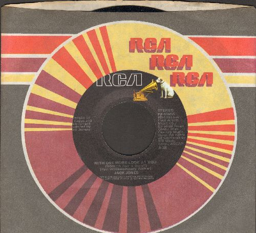 Jones, Jack - With One More Look At You/Try It Again (with RCA company sleeve) - NM9/ - 45 rpm Records