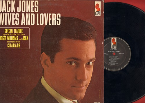 Jones, Jack - Wives And Lovers: Charade, Come Rain Or Come Shine, Toys In The Attic, Fly Me To The Moon (vinyl MONO LP record) - EX8/VG7 - LP Records