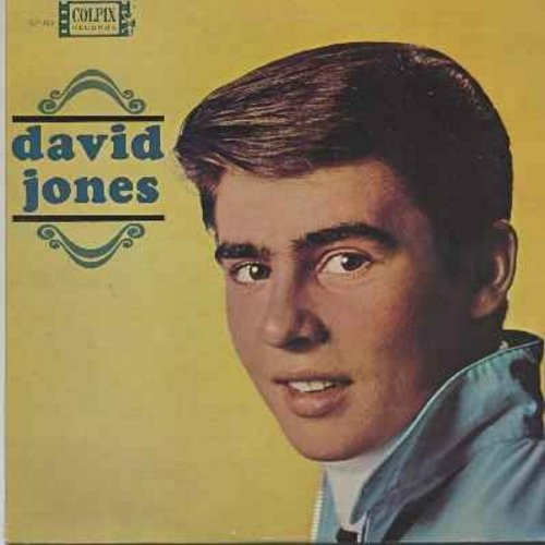 Jones, David - David Jones: It Ain't Me Babe, Baby It's Me, My Dad, Dream Girl, What Are We Going To Do (Vinyl LP record) - EX8/EX8 - LP Records