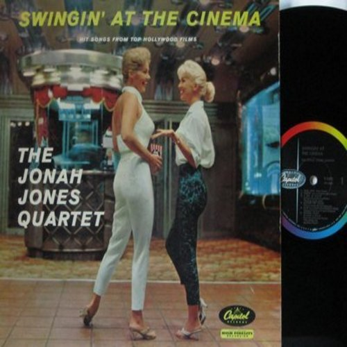 Jones, Jonah Quartet - Swingin' At The Cinema: True Love, Tammy, Colonel Bogey March, Secret Love, Fascination, All The Way (Vinyl MONO LP record, rainbow circle label) - NM9/EX8 - LP Records