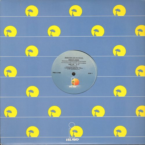 Jones, Grace - Walking In The Rain/Feel Up (12 inch vinyl Maxi Single) - NM9/ - Maxi Singles