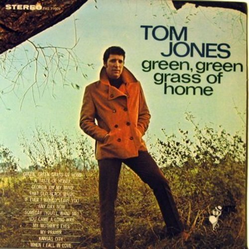 Jones, Tom - Green, Green Grass Of Home: A Taste Of Honey, Any Day Now, My Mother's Eyes, When I Fall In Love, Georgia On My Mind (Vinyl STEREO LP record) - NM9/NM9 - LP Records