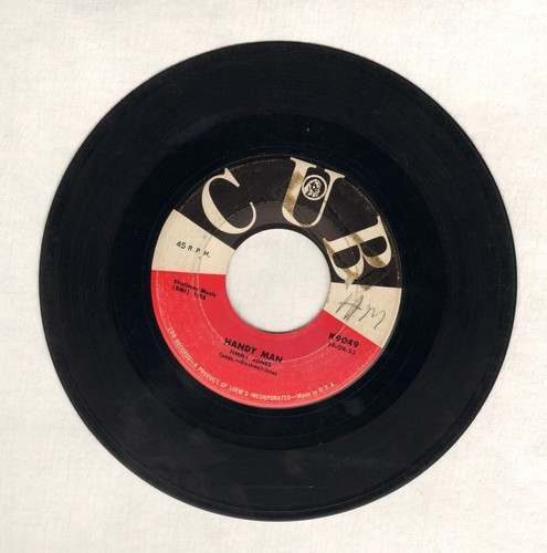 Jones, Jimmy - Handy Man/The Search Is Over (wol) - VG6/ - 45 rpm Records
