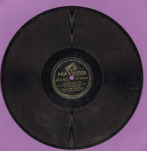 Jones, Spike & His City Slickers - Chloe/A Serenade Of A Jerk (10 inch 78 rpm record) - VG7/ - 78 rpm