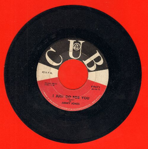 Jones, Jimmy - That's When I Cried/I Just Go For You - VG7/ - 45 rpm Records