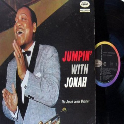 Jones, Jonah - Jumpin' With Jonah: Bill Bailey Won't You Please Come Home, Night Train, Just A Gigolo, Lots Of Luck Charley (Vinyl MONO LP record) - NM9/NM9 - LP Records