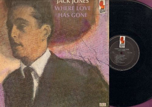 Jones, Jack - Where Love Has Gone: People, What's New, The Lorelei, Willow Weep For Me (vinyl MONO LP record) - NM9/EX8 - LP Records