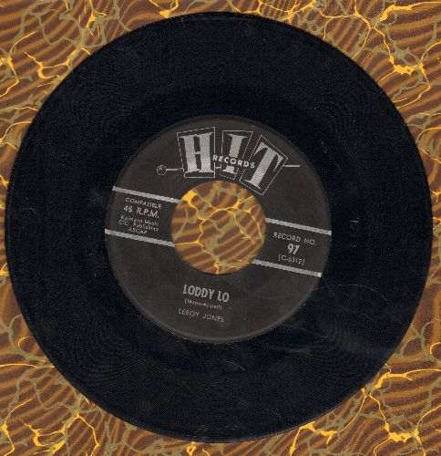 Jones, Leroy - Loddy Lo/Quicksand (by Gerry & The Georgettes on flip-side) (contemporary cover version) - EX8/ - 45 rpm Records