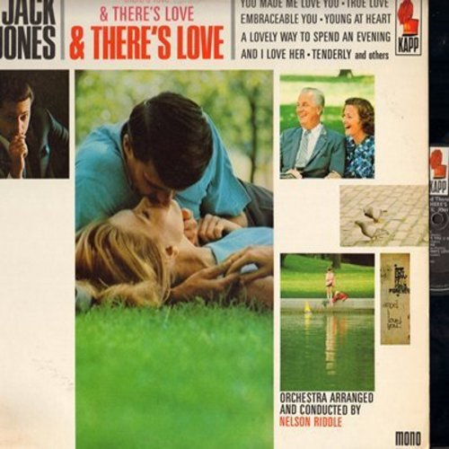 Jones, Jack - There's Love & There's Love: True Love, You Made Me Love You, And I Love Her, You Do Something To Me (Vinyl MONO LP record) - NM9/EX8 - LP Records