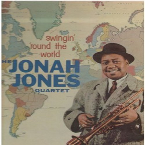 Jones, Jonah Quartet - Swingin' Round The World: Brazil, Chicago, Madrid, Arrivederci Roma, Shanghai, Song Of The Islands (Vinyl MONO LP record, rainbow circle label) - EX8/VG7 - LP Records