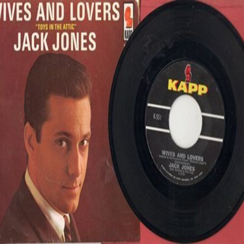 Jones, Jack - Wives And Lovers/Toys In The Attic - EX8/VG7 - 45 rpm Records