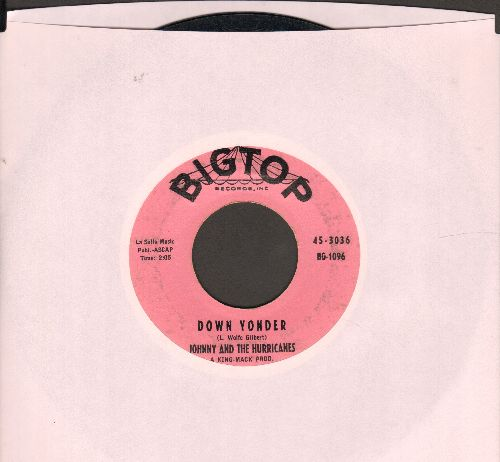 Johnny & The Hurricanes - Down Yonder/Sheba (with juke box label) - EX8/ - 45 rpm Records