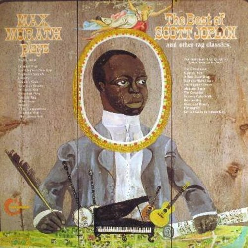 Morath, Max, Scott Joplin - Max Morath Plays The Best Of Scott Joplin: St. Louis Rag, Cottontail Rap, The Entertainer, Ragtime Nightingale, Alabama Jigger (2 vinyl LP record set, gate-fold cover 1972 issue) - NM9/EX8 - LP Records