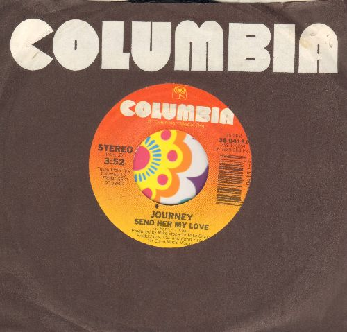 Journey - Send Her My Love/Chain Reaction (with Columbia company sleeve) - NM9/ - 45 rpm Records