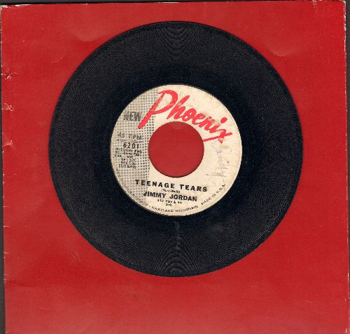 Jordan, Jimmy - Teenage Tears/Two Pair Of Shoes - G5/ - 45 rpm Records