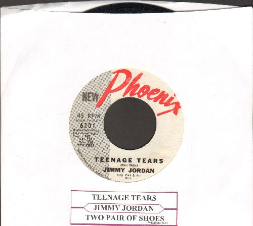 Jordan, Jimmy - Teenage Tears/Two Pair Of Shoes (with juke box label) - VG7/ - 45 rpm Records