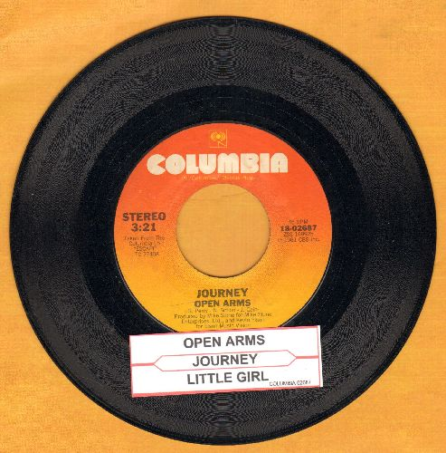 Journey - Open Arms/Little Girl (with juke box label) - EX8/ - 45 rpm Records