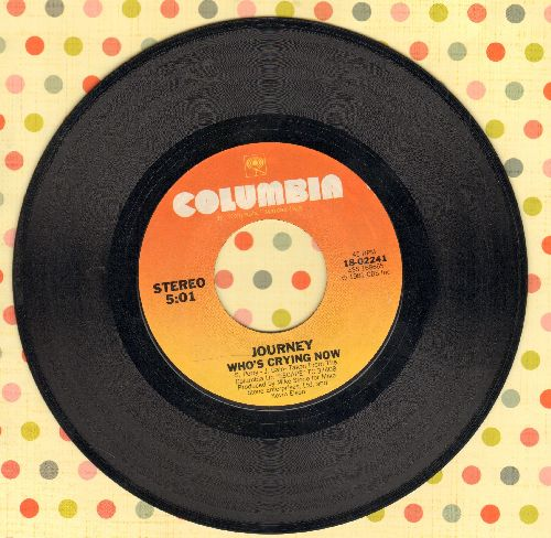 Journey - Who's Crying Now/Mother, Father  - EX8/ - 45 rpm Records