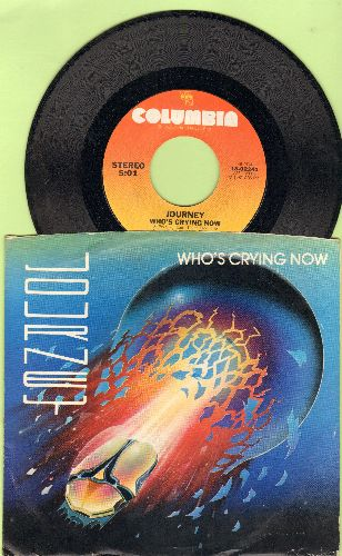Journey - Who's Crying Now/Mother, Father (with picture sleeve - NM9/NM9 - 45 rpm Records