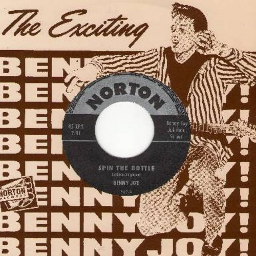 Joy, Benny - Spin The Bottle/Wild Wild Lover (re-issue of vintage recordings, with picture sleeve) - M10/ - 45 rpm Records