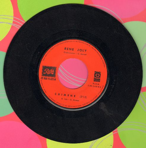 Joly, Rene - Chimene/Chateau De Craie (French Pressing, sung in French) - EX8/ - 45 rpm Records