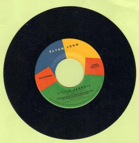 John, Elton - Little Jeannie/Coquer The Sun - NM9/ - 45 rpm Records