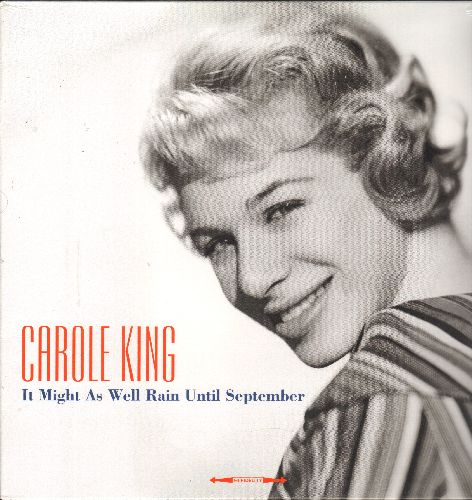King, Carole - It Might As Well Rain Until September: Baby Sittin', Oh Neil, Short Mort, Queen Of The Beach (Virgin Vinyl EU Reissue of vintage recordings, SEALED, never opened!) - SEALED/SEALED - LP Records