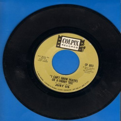 Just Us - I Can't Grow Peaches On A Cherry Tree/I Can Save You - M10/ - 45 rpm Records