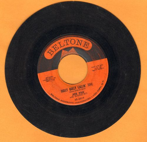 Jive Five - Hully Gully Callin' Time/No Not Again - VG7/ - 45 rpm Records