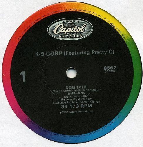 K-9 Corp/George Clinton - K-9 Corp / George Clinton ?– Dog Talk / Man's Best Friend (Vinyl Maxi Record) - NM9/ - Maxi Singles