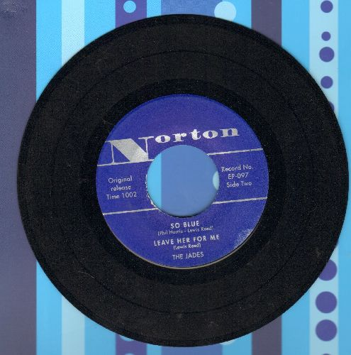 Reed, Lou - So Blue/Leave Her For Me/Your Love/Merry Go Round (re-issue of original vintage recordings with picture sleeve, DEFINTIVE TEEN SOUND!) - NM9/ - 45 rpm Records