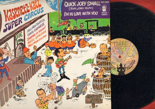 Kasenetz-Katz Super Circus - Quick Joey Small: I'm In Love With You, Let Me Introduce You, Easy To Love, Shake, I Got It Bad For You, Down At Lulu's The Super Circus (Vinyl STEREO LP record, NICE condition!) - M10/EX8 - LP Records