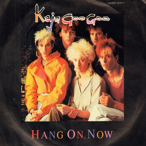 Kajagoogoo - Hang On Now (double-A-sided DJ advance pressing with picture sleeve) - NM9/EX8 - 45 rpm Records