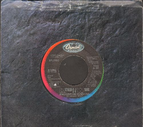 Katrina & The Waves - Walking On Sunshine/Going Down To Liverpool (with Capitol company sleeve) - VG7/ - 45 rpm Records