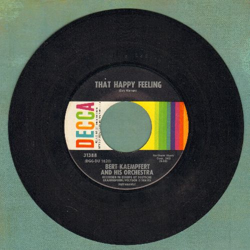 Kaempfert, Bert & His Orchestra - The Happy Trumpeter/Tootie Flutie  - EX8/ - 45 rpm Records