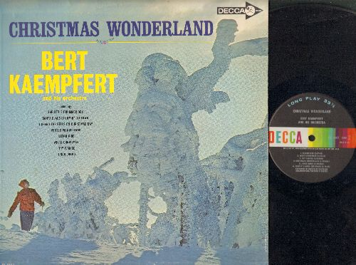 Kaempfert, Bert - Christmas Wonderland: Sleigh Ride, Winter Wonderland, Jingo Jango, Toy Parade, White Christmas (vinyl MONO LP record) - EX8/EX8 - LP Records