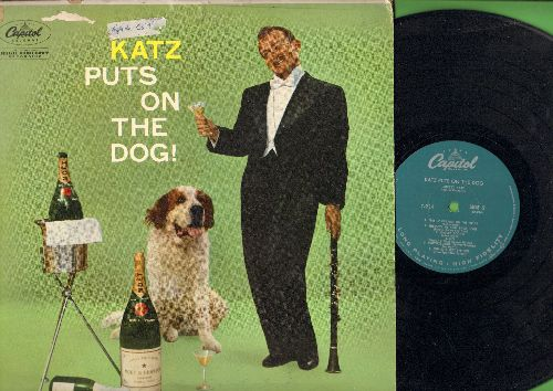Katz, Mickey - Katz Puts On The Dog: You're A Doity Dog, Moscovitz Ramble, Schleppin' My Baby Back Home, Schvitzburgh Pennsylvania, Tico Tico (vinyl MONO LP record) (sol) - EX8/VG6 - LP Records