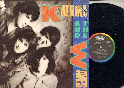Katrina And The Waves - Katrina And The Waves: Walking On Sunshine, Game Of Love, Red Wine And Whisky, Going Down To Liverpool (vinyl LP record, DJ advance pressing) - NM9/EX8 - LP Records